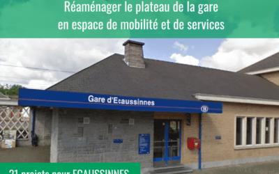 La gare d'Ecaussinnes devient partiellement une maison de jeunes