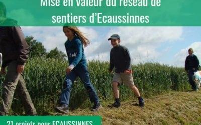 Mise en valeur du réseau de sentiers à Ecaussinnes