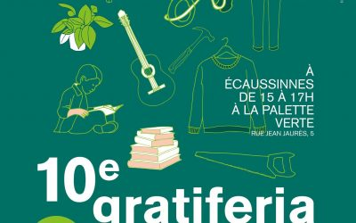10ème Gratiferia à Ecaussinnes le dimanche 17 octobre 2021